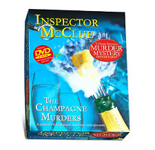 Inspector McClue Murder Mystery - The Champagne Murders - Brand New