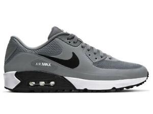 Nike Air Max 90 G Golf Shoes Men's Size 9 Waterproof Smoke Grey Black 2021 NEW