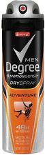 Degree Men Dry Spray Antiperspirant, Adventure 3.8 oz (Pack of 2)
