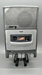 RCA Personal Portable Cassette Tape Recorder & Player Model RP3503-B (Tested)