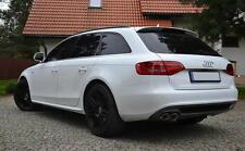 Audi A4 8K B8 FL Diffusor Spoiler Standart Stoßstange ohne S-Line Doppel Links *