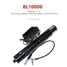Bl 10000 10000mah Extensional Li Ion Battery W Charger To Rtk Amp Gps Carbon Poles