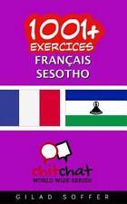 1001+ Exercices Français - Sesotho by Gilad Soffer (2016, Paperback)