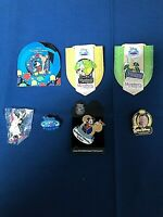 Lot of 7 Disney World Attraction Pins some Ltd. Ed. RARE SOLD OUT