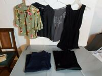 Womens Clothing Lot 6 Pieces 90s Y2K Style Ann Taylor Loft  J Crew Dress Barn