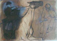 EDGAR DEGAS ( 1834-1917 ) GRAVURE FAC SIMILE PROCEDE DANIEL JACOMET 1966
