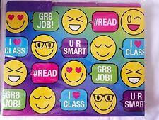 "RENEWING MINDS Emoji/Speech Bubbles 11.625"" x 9.5"" FILE FOLDERS & LABELS - 12 pc"