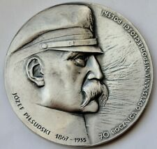 Poland Medal 1988, Jozef Pilsudski 1867 - 1935, Independence Day 11-11-1918 70mm