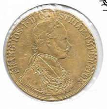 4 Dukat Gold 1864 A Goldmünze Kaiser Franz Josef Österreich Ungarn Repariert