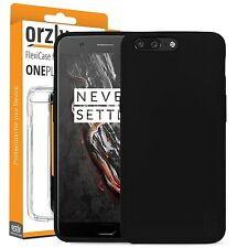 Orzly FlexiCase Cover Protective TPU Gel Case for OnePlus 5 / OnePlus Five