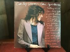 Carly Simon - Come Upstairs - LP Record - 1980