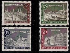 Germany  BERLIN 1962 Old Value Stamps - Berlin Landmarks