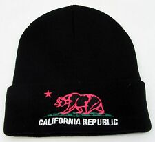 CALIFORNIA REPUBLIC Cuff Beanie Skull Cap Winter Snowboard Ski Hat Adult NWT