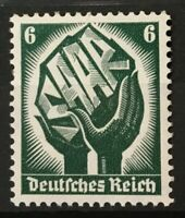 Stamp Germany 1934 Mi 544  WWII 3rd Reich War Saar Land  Coal MNH