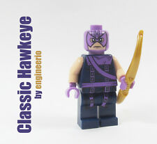 LEGO Custom - Classic Hawkeye - Marvel Superheroes iron man spiderman avengers