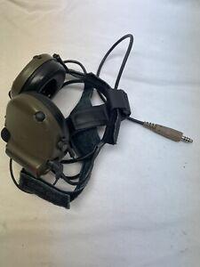 3M Peltor Comtac III MT17H682BB-49  ACH Communication Headset Flex Boom