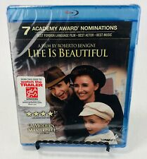 Life Is Beautiful Blu Ray - New and Sealed (No Slipcover)
