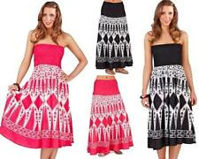 Cotton Sundresses Strapless Dresses for Women