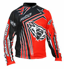 Wufsport WSX4 red trials shirt size small motocross motorbike MX leisure