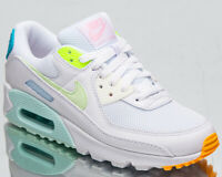 Nike Air Max 90 Pastel Women's White Barely Volt Casual Lifestyle Sneakers Shoes