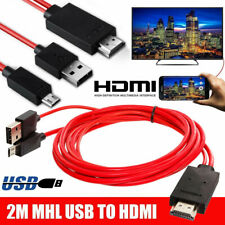 MHL 11 Pin Micro USB to HDMI 1080P HD TV Cable Adapter For Android Phone Samsung