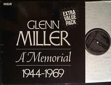 GLENN MILLER A Memorial 1944-1969 2xLP Vinyl Gtfl RCA Germany NL86019(2) @N/M-EX
