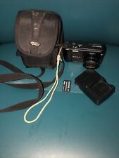 Sony Cyber-Shot DSC-H55 14.1MP Digital Camera Black 4GB SD Card Battery Charger