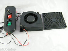 ENCAD NOVAJET 736 ~ CONTROL SWITCHES (RED & GREEN) AND FAN