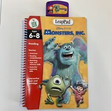 LeapFrog Leap Pad 2 Reading Disney Pixar Monsters Inc Ages 6-8 Book & Cartridge
