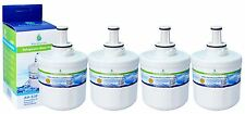 4x Filtro Acqua Compatibile Frigorifero Congelatore Per Samsung da29-00003f, da97-06317a-b