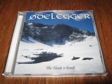 "ODELEGGER ""The Titan's Tomb"" CD bilskirnir ildjarn"