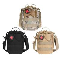 Tactical Molle Pouch Bag Waterproof Outdoor MOLLE EMT First Aid Survival Kit Bag