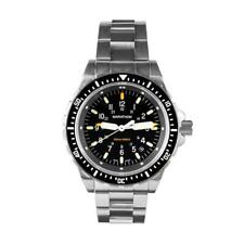 Marathon JSAR Military Issue Dive Watch with steel bracelet, NEW In Box