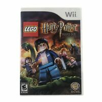 LEGO Harry Potter: Years 5-7 (Nintendo Wii, 2011) Complete w/Manual CIB