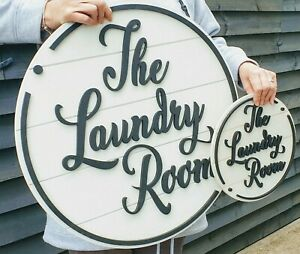 Bespoke family name / room farmhouse style signs