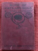 Book Of Cats And Dogs By James Johonnot Published 1884