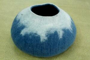 Felted Cat Cave - Designing Cat House - Handmade Pet House - Wool Cave