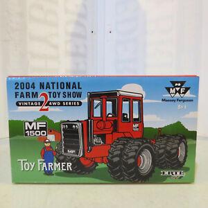 Ertl MasseyFerguson 1500 Tractor 2004 National Farm Toy Show 1/32 Scale 16117A-B