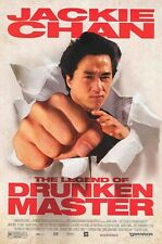 LEGEND OF THE DRUNKEN MASTER ~ 27x40 ORIGINAL MOVIE POSTER Jackie Chan