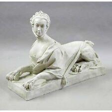 """Victorian Sphinx Sculpture 30"""" Museum Replica Reproduction"""