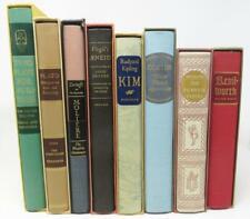 Lot 8 HERITAGE PRESS Books in Slipcases Dickens Goethe Plato Moliere Kipling etc