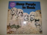 Deep Purple: In Rock LP, PURPLE Vinyl, half-speed mastered