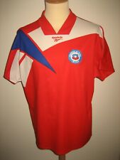 Chile national home football shirt soccer jersey maillot trikot camiseta size XL