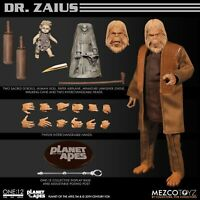 Mezco ONE:12 COLLECTIVE Planet of the Apes Dr. Zaius figure IN STOCK & SHIPPING!