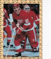LIMITED EDITION GOLD TRIMMED #-NNO SERGEI FEDOROV==DETROIT RED WINGS-7866/15,000