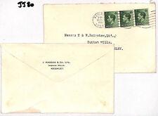 Jj80 1937 Gb Keviii Commercial Covers{2} Ingrow Mills Keighley Yorks {samwells}