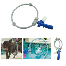 Foldable Dog Washer Tool 360 Bath Shower Kit Pet Gently Cleaning Ring Sprayer