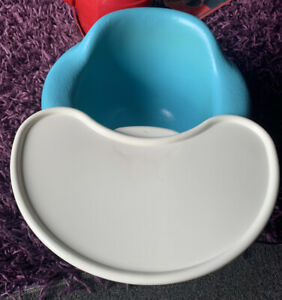 BUMBO FLOOR SEAT BLUE WITH PLAY FOOD TRAY