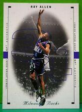 Ray Allen regular card 1998-99 Upper Deck SP Authentic #50