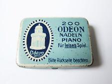 Grammophon NADELDOSE ODEON gramophone needle tin